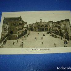 Postales: CIUDAD RODRIGO(SALAMANCA).-PLAZA MAYOR SIN CIRCULAR. Lote 147514110