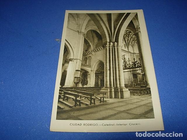 CIUDAD RODRIGO CATEDRAL INTERIOR CRUCERO (Postales - España - Castilla y León Antigua (hasta 1939))