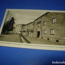 Postales: CIUDAD RODRIGO PLAZA ISABELINA.CASAS DE DON CLEMENTE VELASCO, MARQUESAS DE VILLA ALCAZAR Y CARTAGO. Lote 147518134