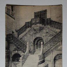 Postales: BURGOS CATEDRAL ESCALERA DE LA CORONERIA DIEGO DE SILOE - ENVIADA BA BELGICA 1922. Lote 147569802