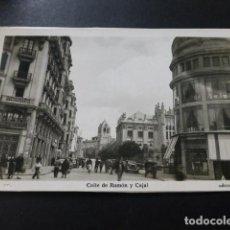 Postales: LEON CALLE DE RAMON Y CAJAL. Lote 194363718