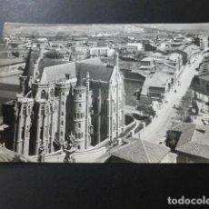 Postales: ASTORGA LEON PALACIO EPISCOPAL VISTA PARCIAL. Lote 147821662