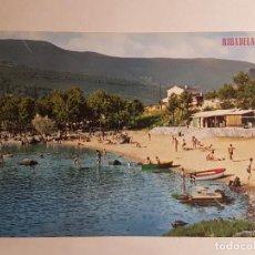 Postales: RIBADELAGO DE FRANCO, ZAMORA, PLAYA. Lote 147865118