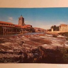 Postales: AGUILAR DE CAMPOO, PALENCIA, FUENTE LA TEJA. Lote 147869614