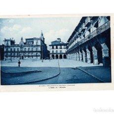 Postales: LEÓN.- VISTA GENERAL DE LA PLAZA MAYOR Y CONSISTORIAL- ROISIN.. Lote 147918078