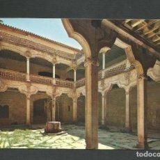 Postales: POSTAL SIN CIRCULAR - SALAMANCA 35 - PATIO DE LA CASA DE LAS CONCHAS - EDITA CERVANTES. Lote 148153882