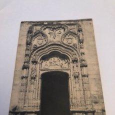 Postales: ANTIGUA POSTAL DE SEGOVIA PORTADA DE SANTA CRUZ. Lote 148242840