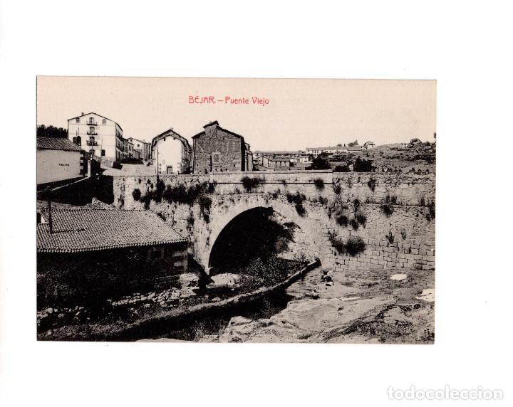 BÉJAR.(SALAMANCA).- PUENTE VIEJO (Postales - España - Castilla y León Antigua (hasta 1939))