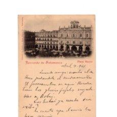 Postales: SALAMANCA.- RECUERDO DE SALAMANCA. PLAZA MAYOR. Lote 148551674