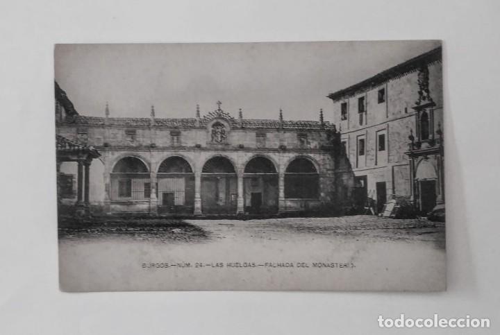 Burgos. Las Huelgas. Fachada del monasterio. Postal. - 135709155