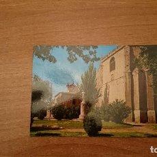 Postales: POSTAL PALENCIA JARDINES E IGLESIA DE S. PABLO SIN CIRCULAR. Lote 148795834