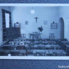 Postales: ESCUELA MANDOS FALANGE MEDINA DEL CAMPO CASTILLO MOTA UNA CLASE POSTAL ANTIGUA. Lote 148963552