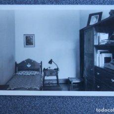 Postales: ESCUELA MANDOS FALANGE MEDINA DEL CAMPO CASTILLO MOTA DORMITORIO POSTAL ANTIGUA. Lote 148963556
