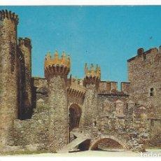 Postales: 5555- PONFERRADA (LEON).- CASTILLO. Lote 149475950