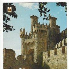 Postales: 1- PONFERRADA (LEON).- CASTILLO DE LOS TEMPLARIOS. Lote 149476478