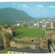 Postales: 46- PONFERRADA .- CASTILLO DE LOS TEMPLARIOS.. Lote 149477090