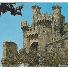 Postales: PONFERRADA.- CASTILLO DE LOS TEMPLARIOS.. Lote 149477834