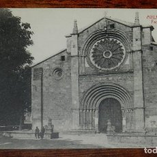 Postales: POSTAL DE AVILA, SAN PEDRO, FACHADA PRINCIPAL, ED. A. MEDRANO, NO CIRCULADA.. Lote 149924522