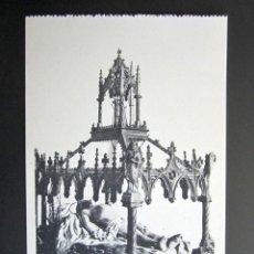 Postales: POSTAL SEMANA SANTA ZAMORA. EL SEPULCRO. COLECCIÓN LIBRERÍA RELIGIOSA JACINTO GONZÁLEZ.. Lote 149977306
