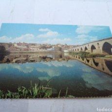 Postales: POSTAL ZAMORA PUENTE ROMANO. Lote 150122522