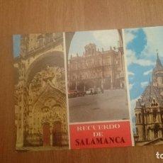 Postales: POSTAL SALAMANCA SIN CIRCULAR. Lote 150269130