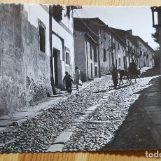 Postales: AVILA UNA CALLE TIPICA Nº 19 ED. GARCIA GARRABELLA SELLO ISABEL LA CATOLICA. Lote 150705926