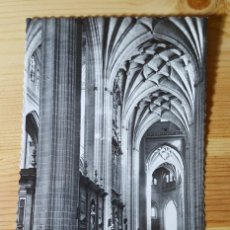 Postales: SEGOVIA CATEDRAL NAVE MAYOR Nº 58 1954 ED. GARCIA GARRABELLA. Lote 150706614