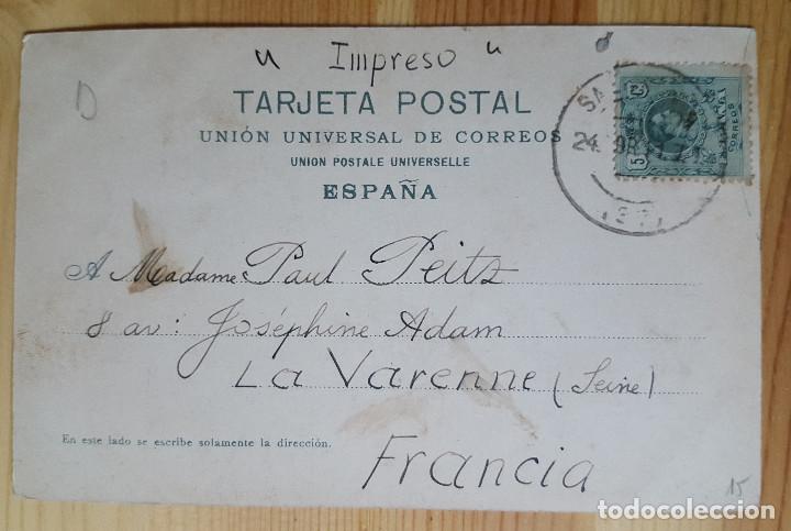 Postales: Salamanca Escuelas Menores y Torres de la Catedral Ed. Purger&Co Nº 2849 1911 - Foto 2 - 150708890