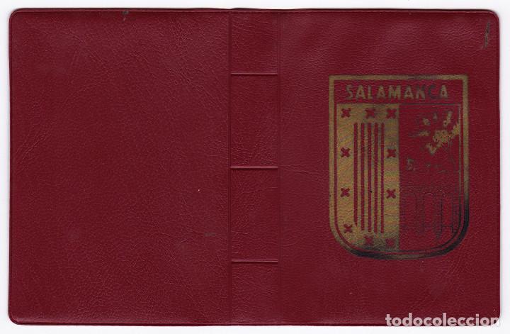 LIBRO ACORDEÓN CON 20 POSTALES DE SALAMANCA. MONUMENTOS. (Postales - España - Castilla y León Moderna (desde 1940))