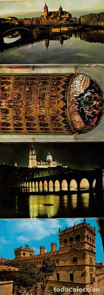 Postales: Libro acordeón con 20 postales de Salamanca. Monumentos. - Foto 2 - 151318354