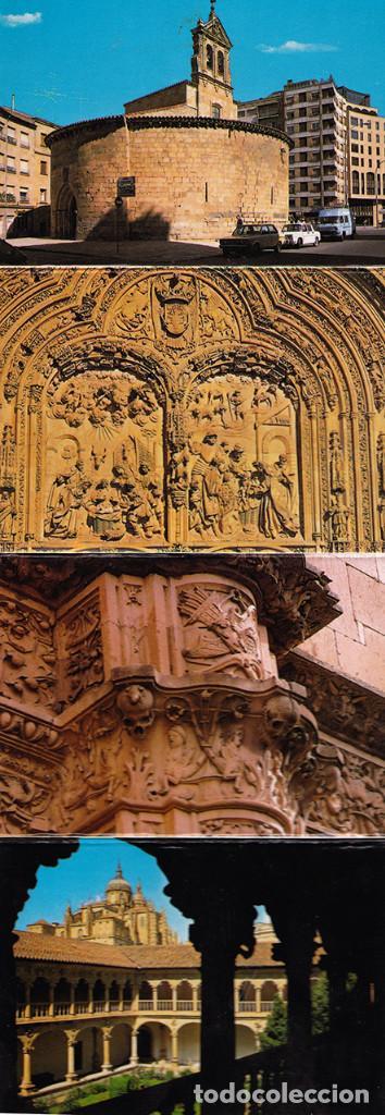 Postales: Libro acordeón con 20 postales de Salamanca. Monumentos. - Foto 3 - 151318354