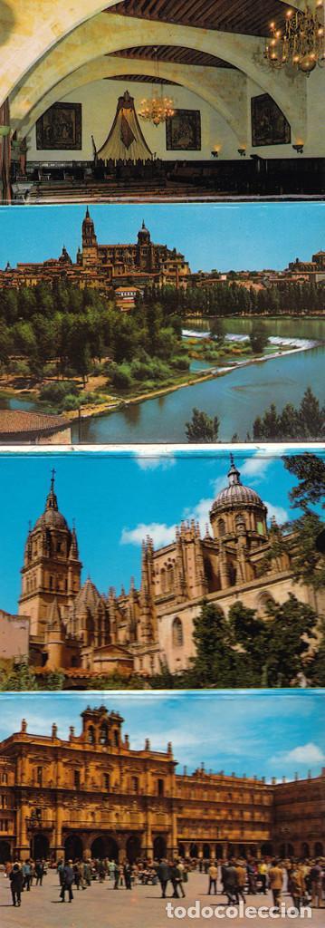 Postales: Libro acordeón con 20 postales de Salamanca. Monumentos. - Foto 4 - 151318354