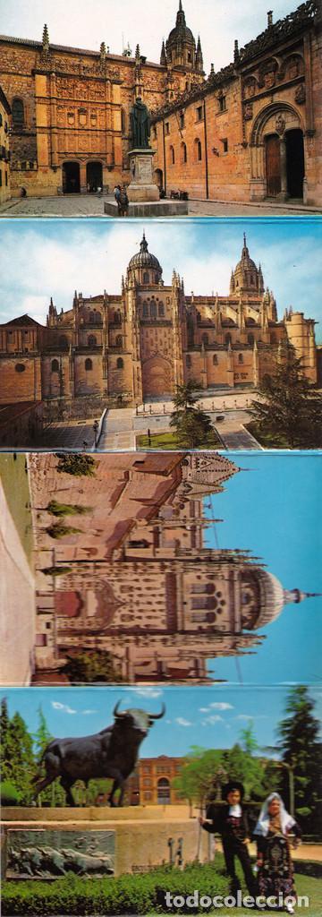 Postales: Libro acordeón con 20 postales de Salamanca. Monumentos. - Foto 5 - 151318354