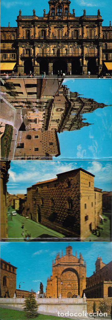 Postales: Libro acordeón con 20 postales de Salamanca. Monumentos. - Foto 6 - 151318354