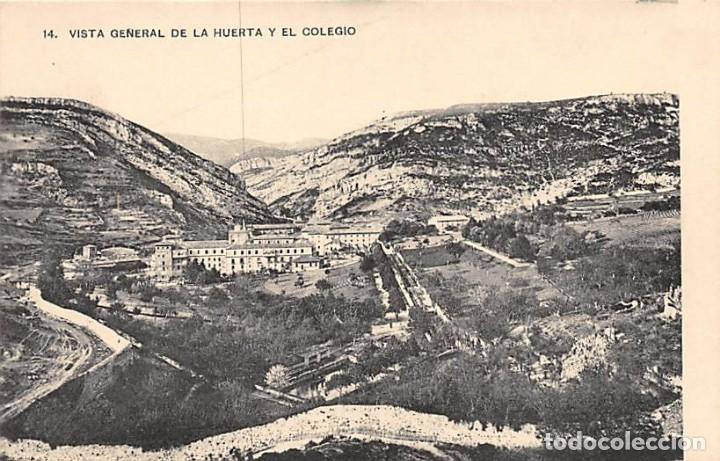 OÑA (BURGOS).- COLEGIO DE P.P. JESUITAS.-ANTIGUO Y REAL MONASTERIO S. SALVADOR-VISTA GRAL DEL COLEGI (Postales - España - Castilla y León Antigua (hasta 1939))