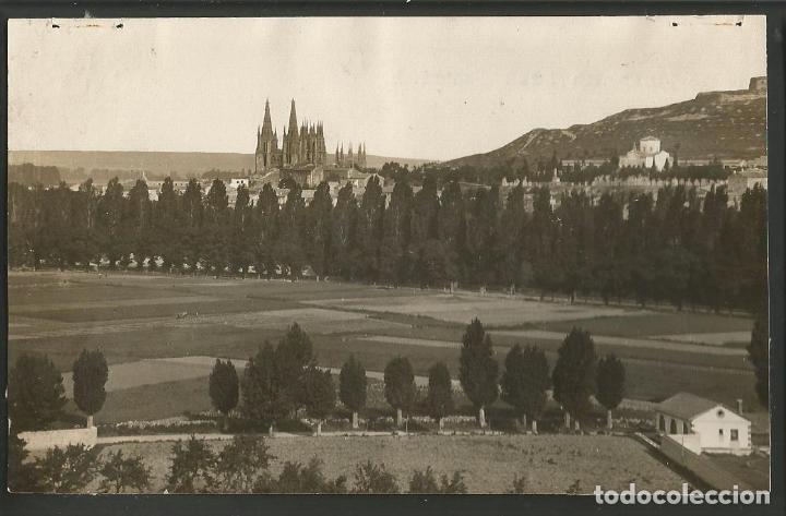 BURGOS-VISTA PARCIAL-FOTOGRAFICA HAUSER Y MENET-POSTAL ANTIGUA-(57.103) (Postales - España - Castilla y León Antigua (hasta 1939))