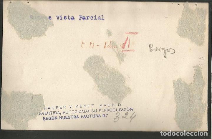 Postales: BURGOS-VISTA PARCIAL-FOTOGRAFICA HAUSER Y MENET-POSTAL ANTIGUA-(57.103) - Foto 2 - 151438046