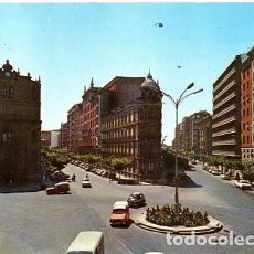 Postales: VALLADOLID - 66 PLAZA DE MADRID Y CALLES DE GAMAZO Y MURO. Lote 151623446