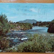 Postales: BARCO DE AVILA ( AVILA ) RIO TORMES. PUENTE ROMANO Y CASTILLO. (IMP. Y PAP. RESFLO Nº16).. Lote 151626334