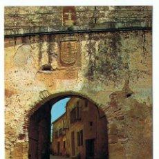 Postales: POSTAL SEGOVIA. PEDRAZA DE LA SIERRA. ENTRADA DE LA VILLA. EDICIONES SICILIA. Lote 151671250