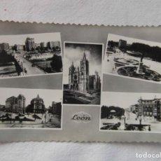 Postales: LEON. ARRIBAS. CIRCULADA. 1957. Lote 151701622