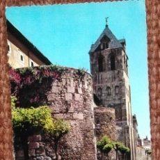 Postales: LEON - TORRE Y MURALLA DE SAN ISIDORO. Lote 151703570