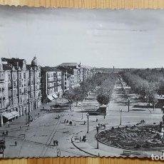 Postales: VALLADOLID Nº 7 PANORAMICA DE LA AVDA. DEL GENERALISIMO ED. GARCIA GARRABELLA 1956. Lote 152065370
