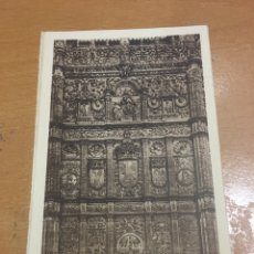 Postales: SALAMANCA UNIVERSIDAD DETALLE DE LA FACHADA. Lote 152134457