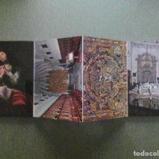 Postais: BLOC POSTALES REAL CARTUJA DE MIRAFLORES BURGOS. Lote 152514082