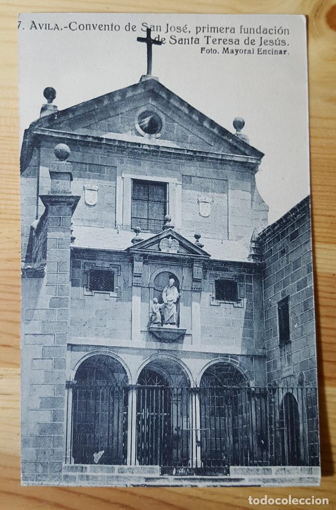 AVILA CONVENTO DE SAN JOSE PRIMERA FUNDACION DE SANTA TERESA DE JESUS FOT. MAYORAL ENCINAR (Postales - España - Castilla y León Moderna (desde 1940))