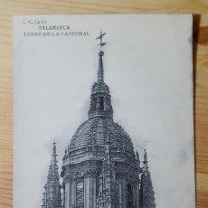 Postales: SALAMANCA TORRE DE LA CATEDRAL ED. J. C. CALON HAUSER Y MENET. Lote 152863842