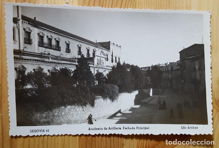 SEGOVIA ACADEMIA DE ARTILLERIA FACHADA PRINCIPAL ED. ARRIBAS Nº 61 (Postales - España - Castilla y León Moderna (desde 1940))