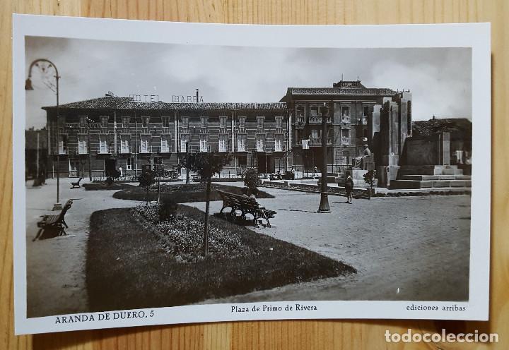 ARANDA DE DUERO PLAZA PRIMO DE RIVERA ED. ARRIBAS Nº 5 (Postales - España - Castilla y León Moderna (desde 1940))