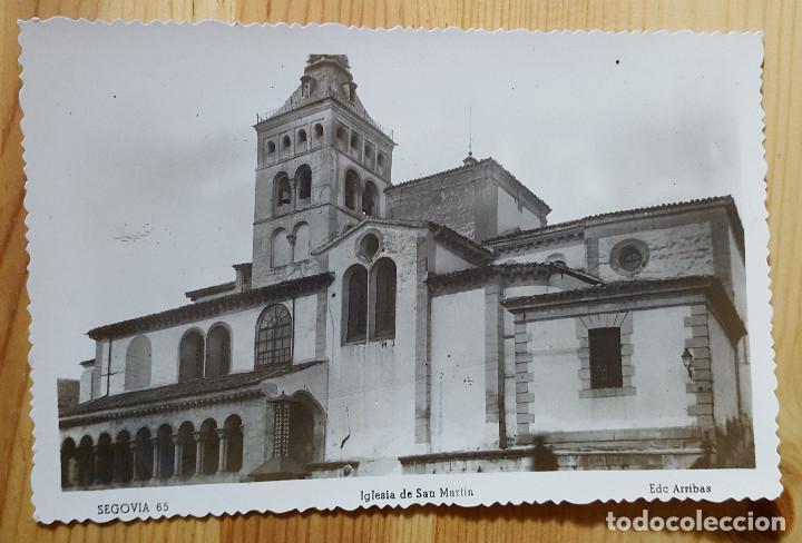 SEGOVIA IGLESIA DE SAN MARTIN ED. ARRIBAS Nº 65 (Postales - España - Castilla y León Moderna (desde 1940))